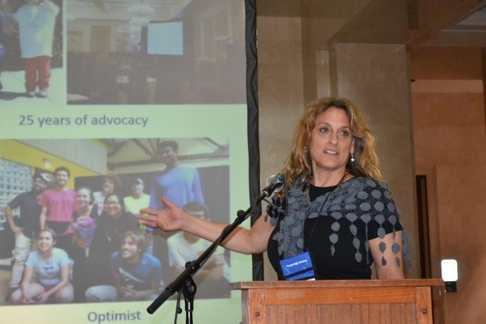 Susan Senator at the 2018 forum